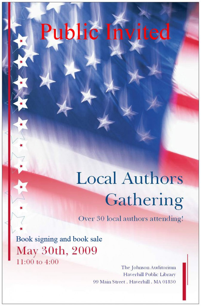 Flyer for the 2009 NEAE book sale