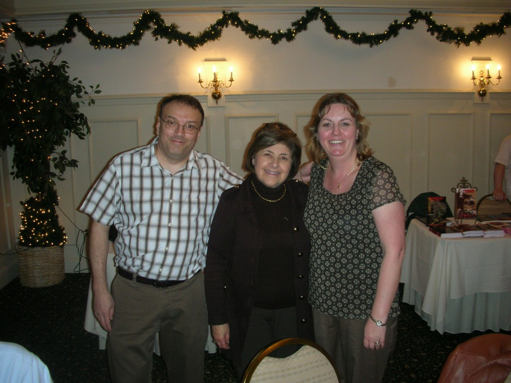 Chris and Nancy Obert with Mary Ann Esposito