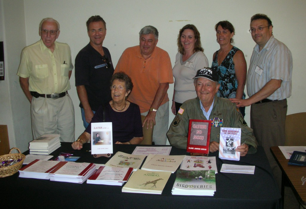 Group photo from the 2010 New England Authors Expo book sale event