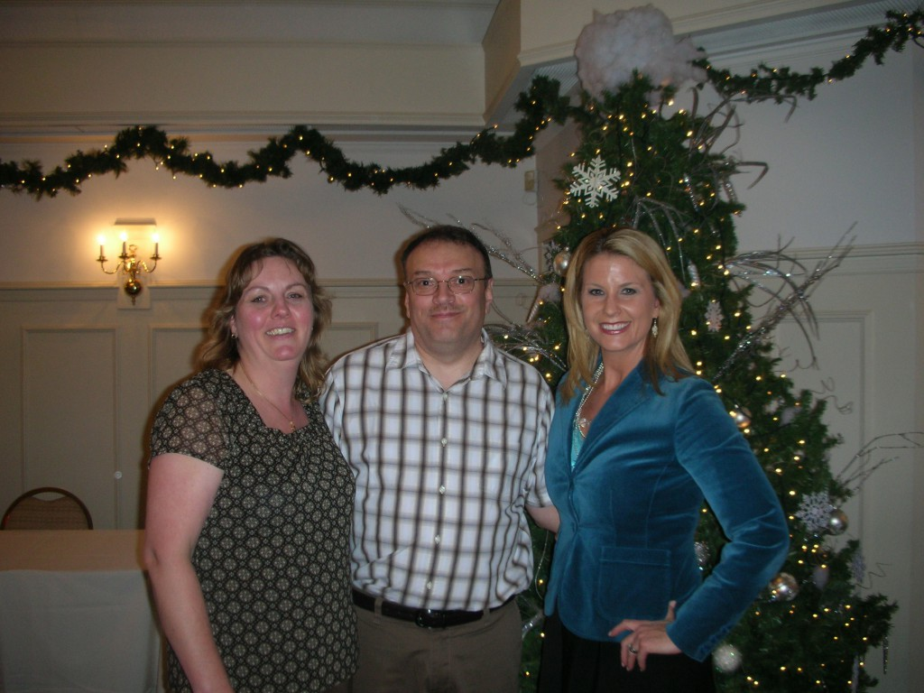 Nancy & Chris Obert with Jennifer Vaughn