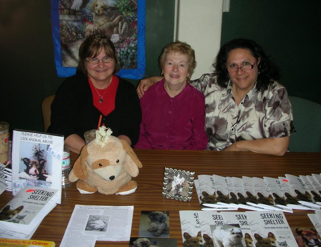 Pat Blodgett, Anita Morales-Swiderski & Julie Gacioch