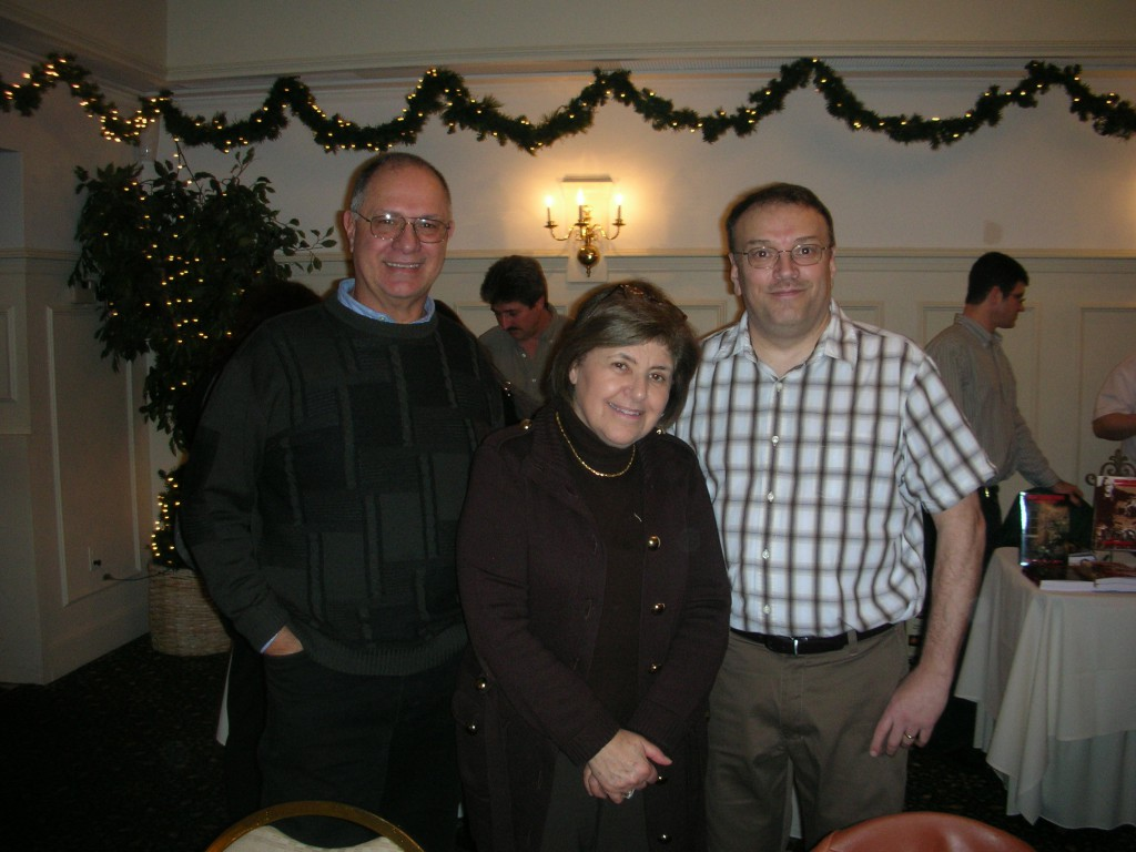 Three Italian Authors- Alfred Zappala, Mary Ann Esposito & Christopher Obert