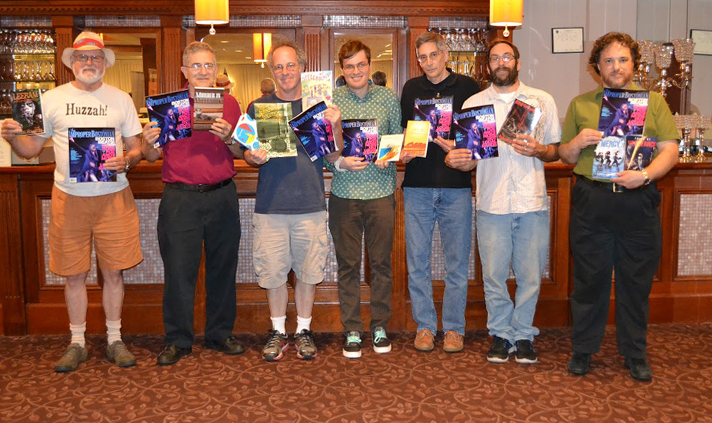 Thank you Improper Bostonian!  Authors at the 2015 New England Authors Expo.