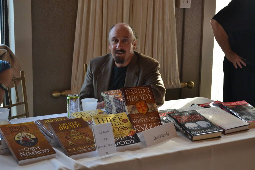 Special guest David S. Brody at the 2015 New England Authors Expo