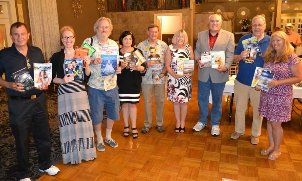 Thank you Entertainment Weekly! Authors at the 2015 New England Authors Expo.