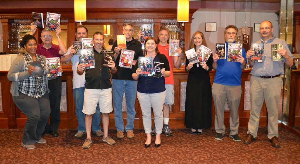 Thank you Marvel for 75 years of great comic books! Authors at the 2015 New England Authors Expo.