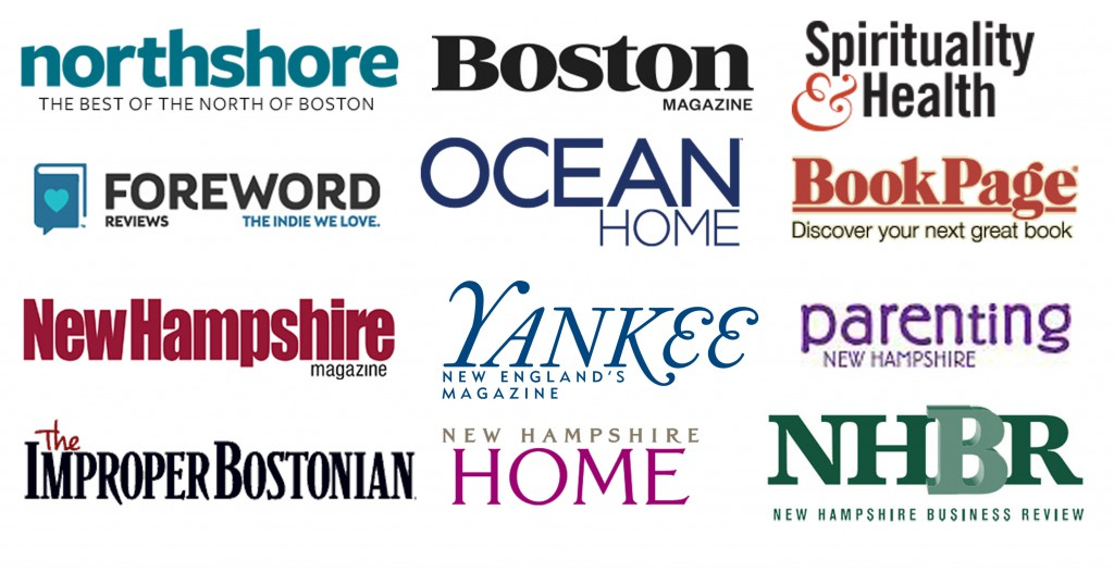New England magazines that donated to the 2015 New England Authors Expo