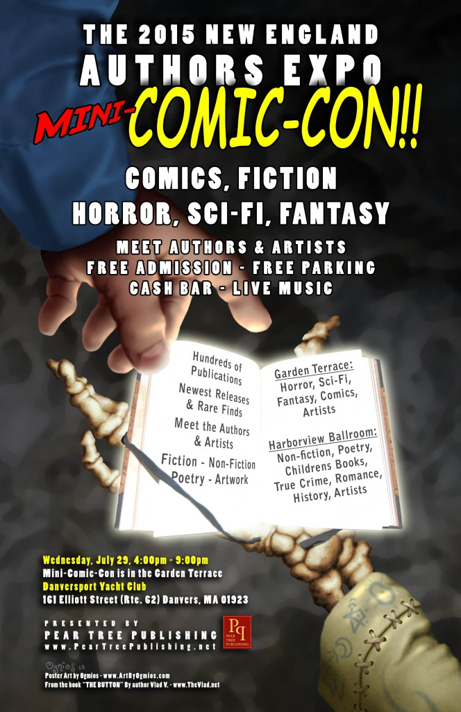 2015 New England Authors Expo flyer #1