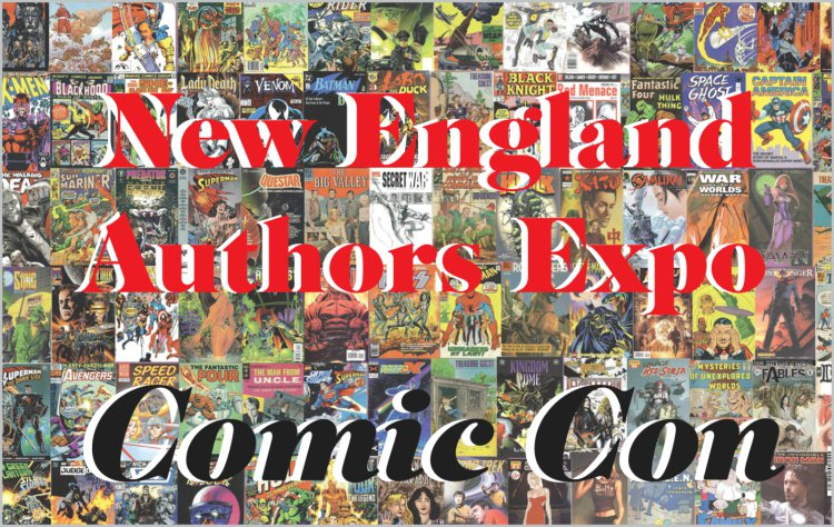 2015 New England Authors Expo comic book flyer #2