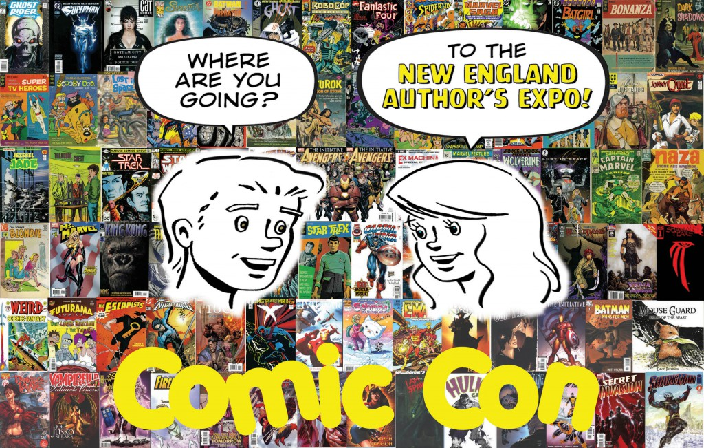 2015 New England Authors Expo comic book flyer #1