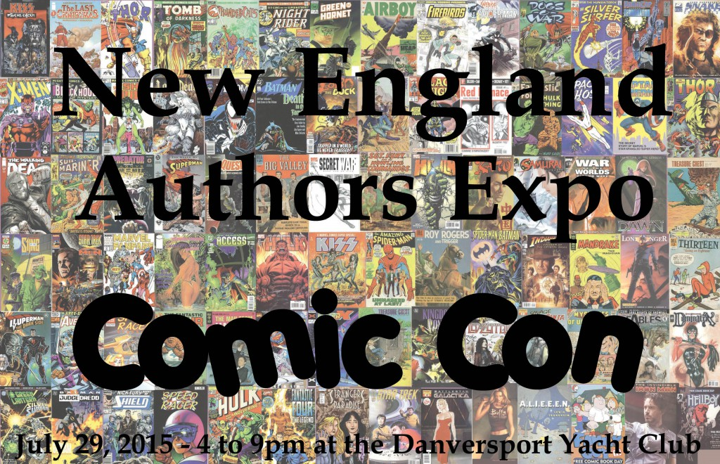2015 New England Authors Expo comic book flyer #3