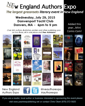 2015 New England Authors Expo magazine ad