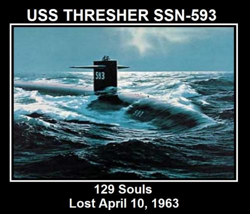 The USS Thresher Memorial