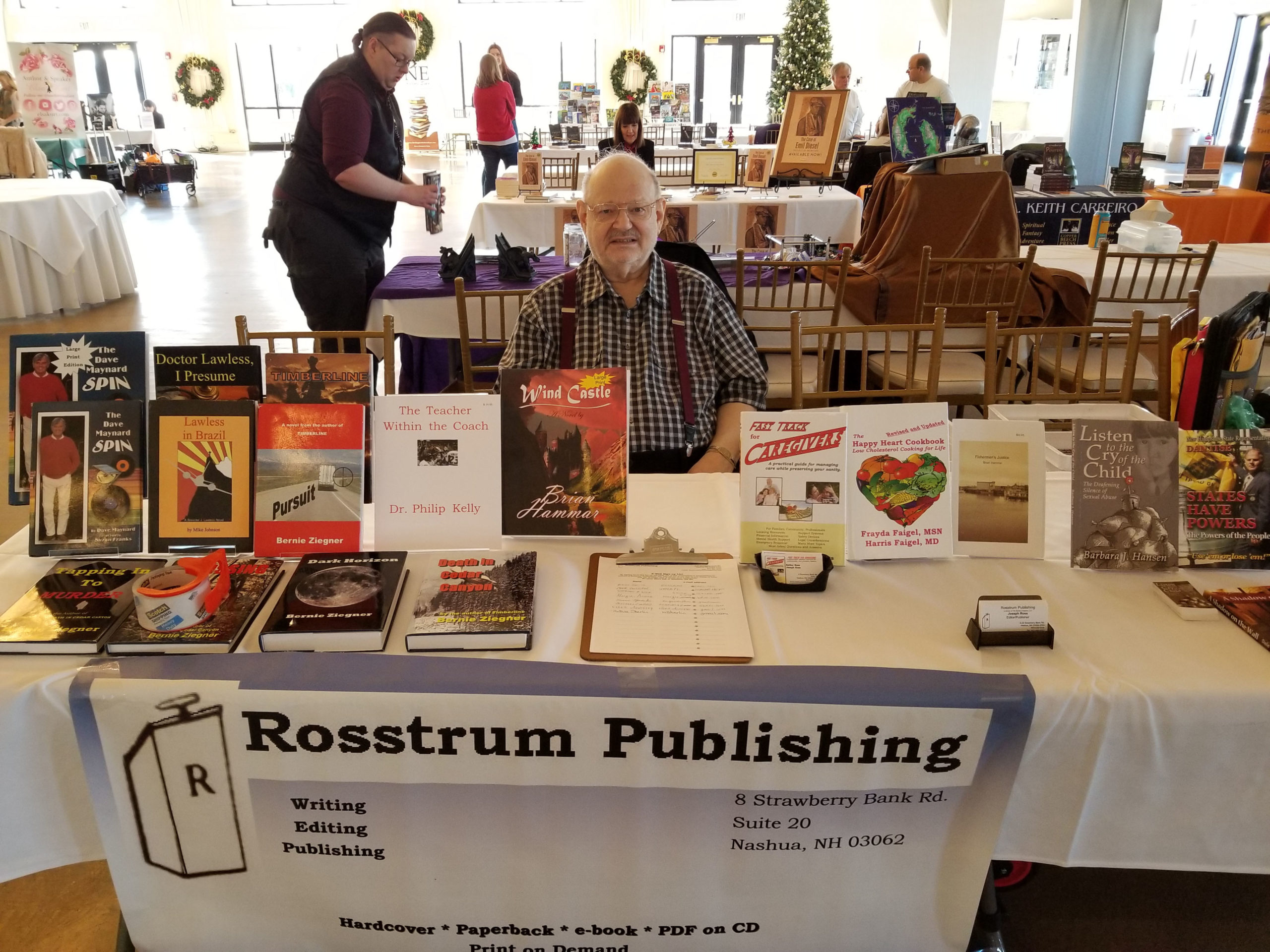 Joe Ross of Rosstrum Publishing